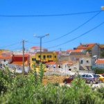 Tilt-shift Small village